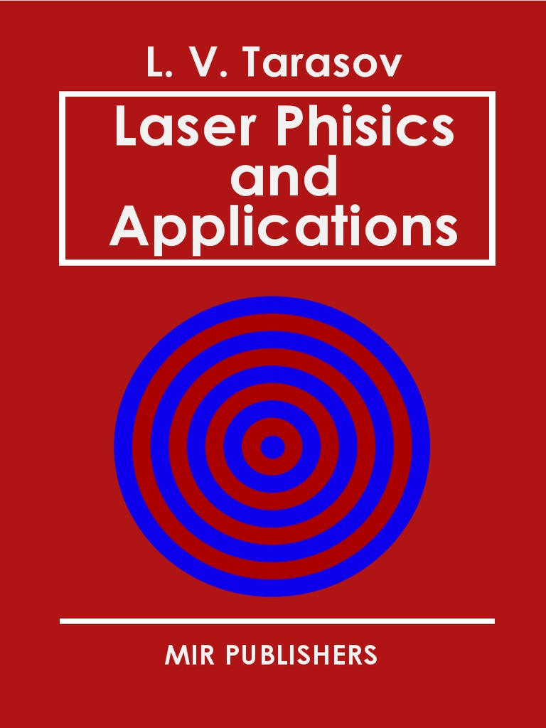 200eb97fbd Tarasov Laser Physics and Applications Mir