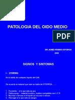 Clase Patologia Del Oido Medio