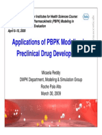 Application of PBPK Modeling in Preclinical Drug Development