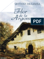 Toti Martinez de Lezea -La Flor de La Argoma