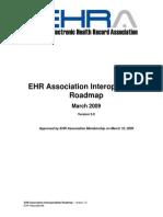 EHRA InteroperabilityRoadmap 20090310 v3