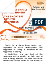 Buddhist Family Establishment