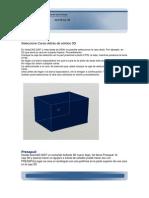 Presspull autocad 3D