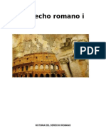 Ensayo Derecho Romano