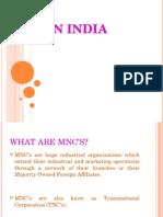 Mnc in India