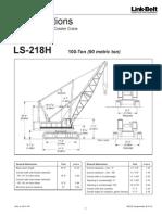 Linkbelt LS218H Specifications