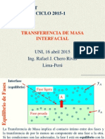 Transferencia de Masa Interfacial