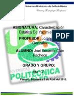 Metodo de Isopacas Joel Pacheco