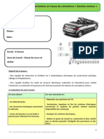 Controle Alimentation Calculateur