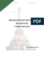 Programacion de Frances
