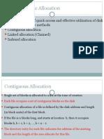 File Allocation