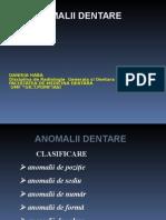 anomalii dentare