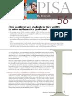 Cata incredere au elevii ca pot sa rezolve probleme de matematica - Studiu OECD