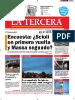 Diario La Tercera 15.10.2015