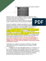 Cálculo y Dimensionamiento de Una Viga de Entramado de Hierros Redondos