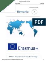 ECSA Romania Newsletter, Issue No.15