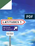 Latitudes 1 Livre