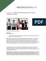 09-10-2015 Periódico Digital - Federación y Gobierno de Puebla Supervisan Acciones de Combate a La Pobreza