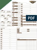 Character Sheets (Printer Friendly)