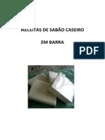 Receitas de Sabão Caseiro