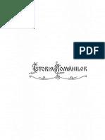Istoria Românilor Din Dacia TRAIANĂ Vol.1 A.D.XENOPOL