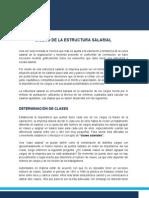 (10) Diseño Estructura Salarial