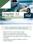 Corporate Finance Ch. 12