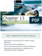 Corporate Finance Ch. 13