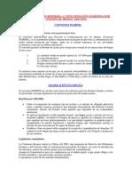 DOCUMENTACIÓN REFERIDA A CONTAMINACIÓN MARÍTIMA POR VERTIDO DE HIDROCARBUROS