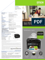 Especificaciones EPSON WorkForce WF-2532