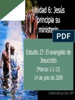 27 El Evangelio de Jesucristo