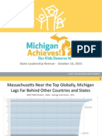 October 14 - Michigan Achieves Event Presentation