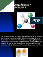 ÁMINOÁCIDOS y Proteínas