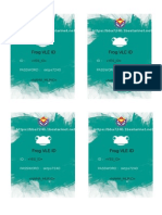 Frog Vle Id Card Template