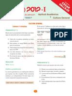 Solucionario Aptitud 2012 1