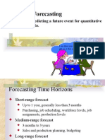 Forecasting M