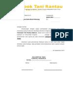 Contoh Surat Permohonan Buka Rekening
