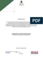 Informe Mensual Mes de Enero de 2015 - Interventoria Distrital