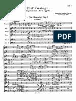 Brahms 5Lieder