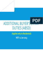 Additional Buyer's Stamp Duties (ABSD)