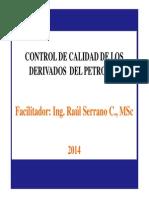 Control Calidad Derivados Petroleo Catedra 1 [Modo de Compatibilidad]