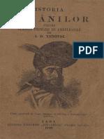 Istoria Românilor Pentru Clasele Primare de Ambe Sexele A.D.XENOPOL