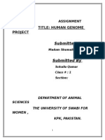 Human Genome Asiments