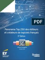 Panorama Top 250 des éditeurs et créateurs de logiciels français