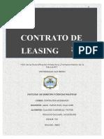 Leasing - Contratos Modernos