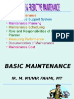 1) Basic Maintenance
