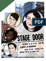 Stage Door Poster 2
