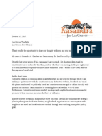 Letter to the Tea Party