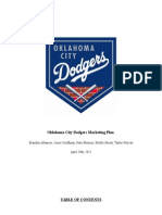oklahoma city dodgers marketing plan
