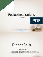 JJ Snack Foods 2015 Recipe Inspiration (Cookie Roll Pretzel churro oktoberfest) - Copy.pdf